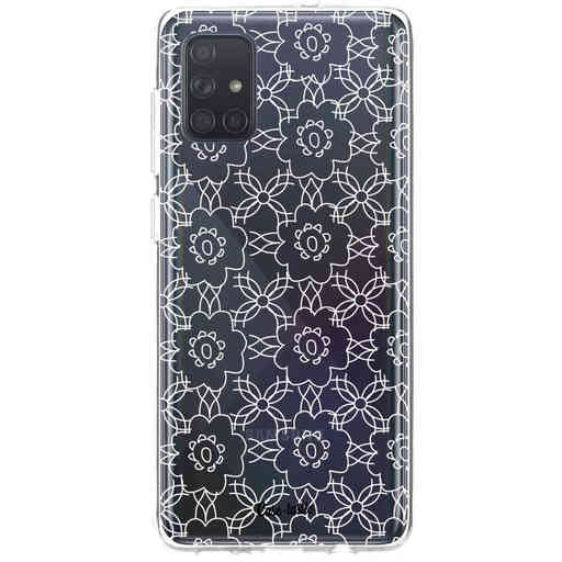 Casetastic Softcover Samsung Galaxy A71 (2020) - Flowerbomb