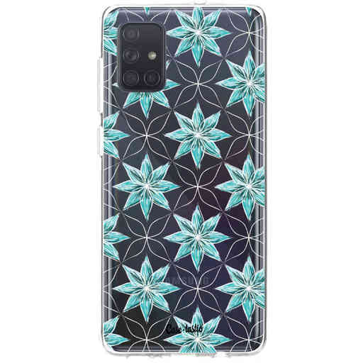 Casetastic Softcover Samsung Galaxy A71 (2020) - Statement Flowers Blue