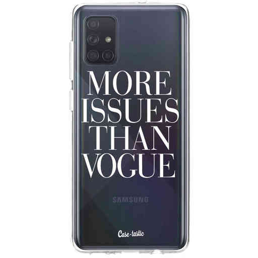Casetastic Softcover Samsung Galaxy A71 (2020) - More issues than Vogue