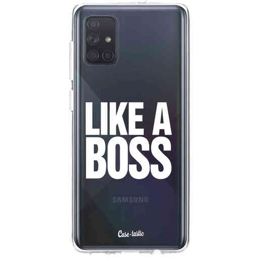 Casetastic Softcover Samsung Galaxy A71 (2020) - Like a Boss