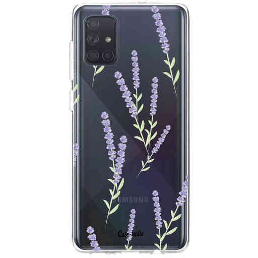 Casetastic Softcover Samsung Galaxy A71 (2020) - Wonders of Lavender