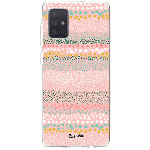 Casetastic Softcover Samsung Galaxy A71 (2020) - Lovely Dots