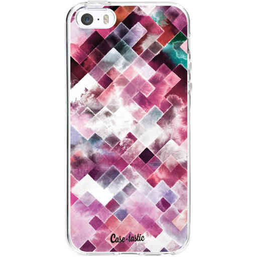 Casetastic Softcover Apple iPhone 5 / 5s / SE - Watercolor Cubes