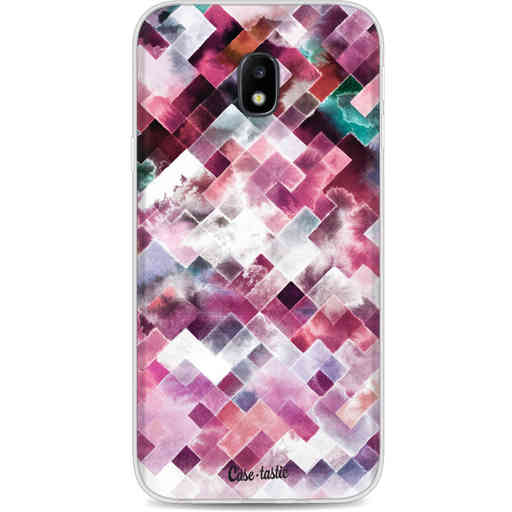 Casetastic Softcover Samsung Galaxy J3 (2017)  - Watercolor Cubes