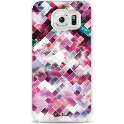 Casetastic Softcover Samsung Galaxy S6 - Watercolor Cubes