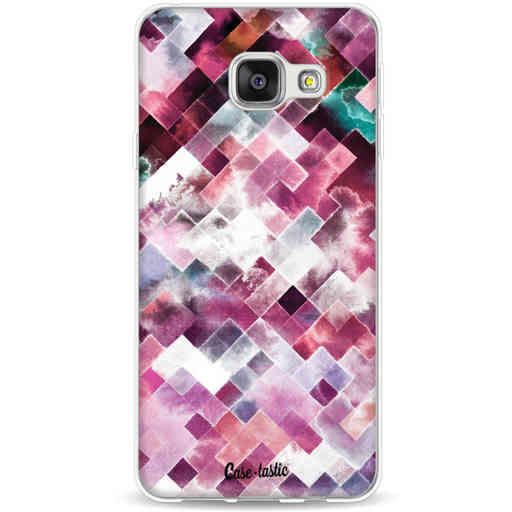 Casetastic Softcover Samsung Galaxy A3 (2016) - Watercolor Cubes
