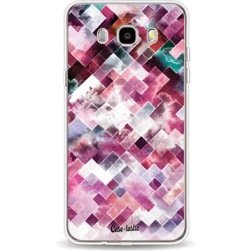 Casetastic Softcover Samsung Galaxy J5 (2016) - Watercolor Cubes