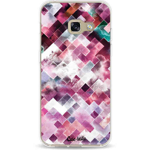 Casetastic Softcover Samsung Galaxy A3 (2017)  - Watercolor Cubes