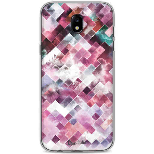 Casetastic Softcover Samsung Galaxy J5 (2017) - Watercolor Cubes