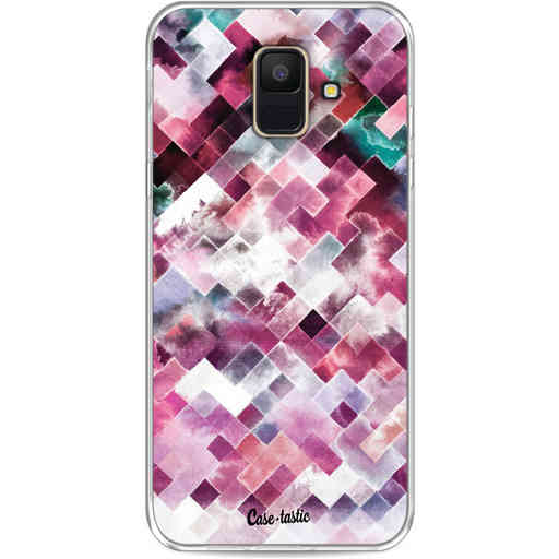 Casetastic Softcover Samsung Galaxy A6 (2018) - Watercolor Cubes