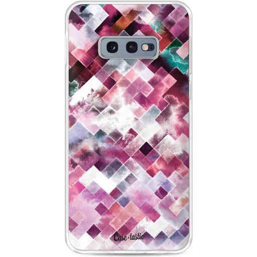 Casetastic Softcover Samsung Galaxy S10e - Watercolor Cubes