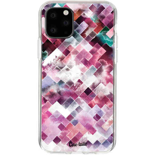 Casetastic Softcover Apple iPhone 11 Pro - Watercolor Cubes