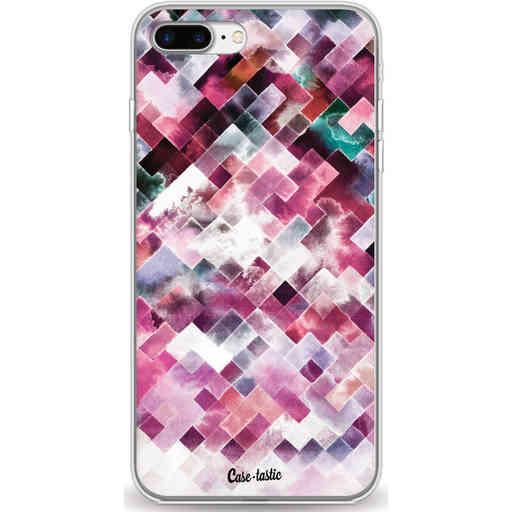 Casetastic Softcover Apple iPhone 7 Plus / 8 Plus - Watercolor Cubes