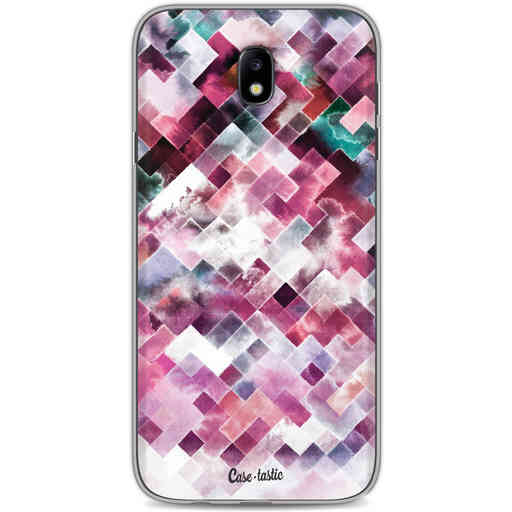 Casetastic Softcover Samsung Galaxy J7 (2017) - Watercolor Cubes