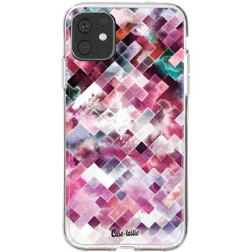 Casetastic Softcover Apple iPhone 11 - Watercolor Cubes