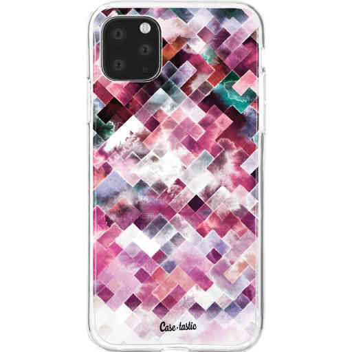 Casetastic Softcover Apple iPhone 11 Pro Max - Watercolor Cubes