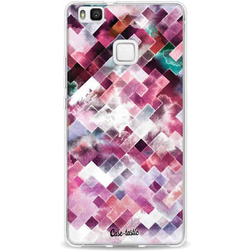 Casetastic Softcover Huawei P9 Lite - Watercolor Cubes