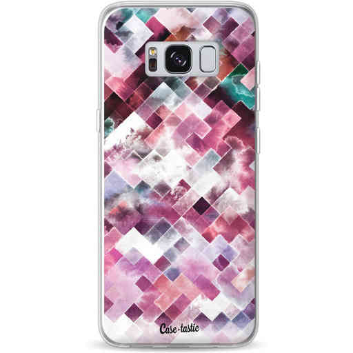 Casetastic Softcover Samsung Galaxy S8 - Watercolor Cubes