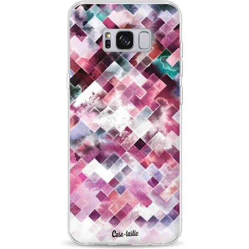 Casetastic Softcover Samsung Galaxy S8 Plus - Watercolor Cubes