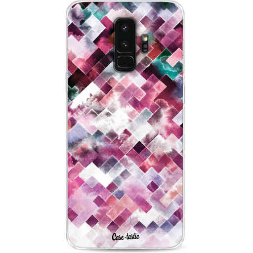 Casetastic Softcover Samsung Galaxy S9 Plus - Watercolor Cubes
