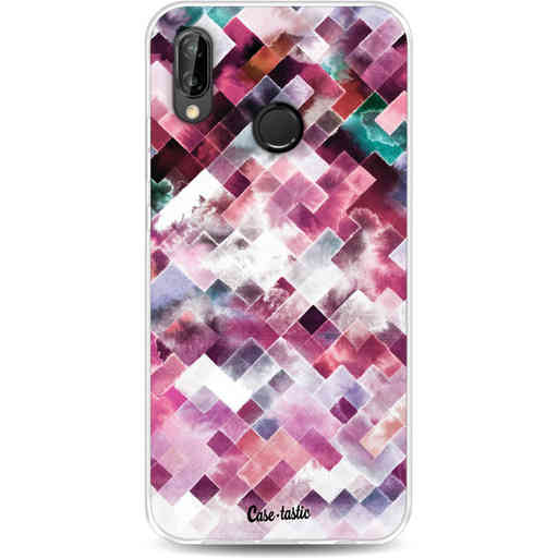 Casetastic Softcover Huawei P20 Lite (2018) - Watercolor Cubes
