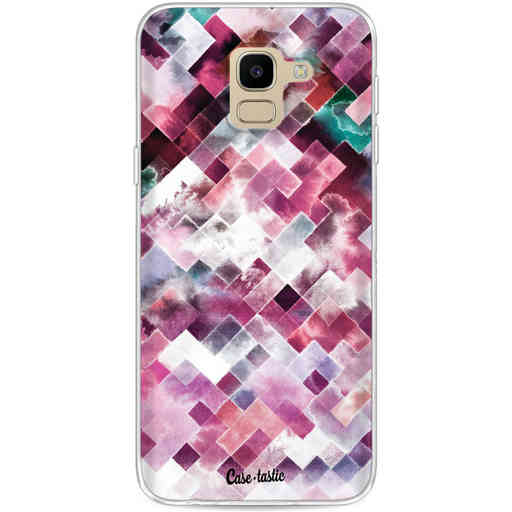 Casetastic Softcover Samsung Galaxy J6 (2018) - Watercolor Cubes