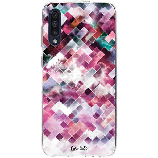 Casetastic Softcover Samsung Galaxy A50 (2019) - Watercolor Cubes