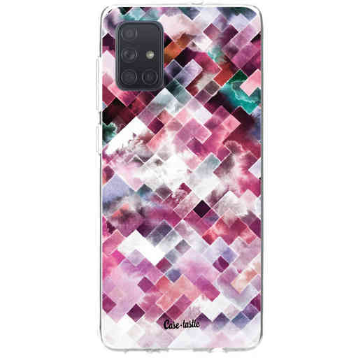 Casetastic Softcover Samsung Galaxy A71 (2020) - Watercolor Cubes