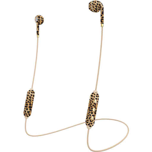 Happy Plugs Wireless II Leopard
