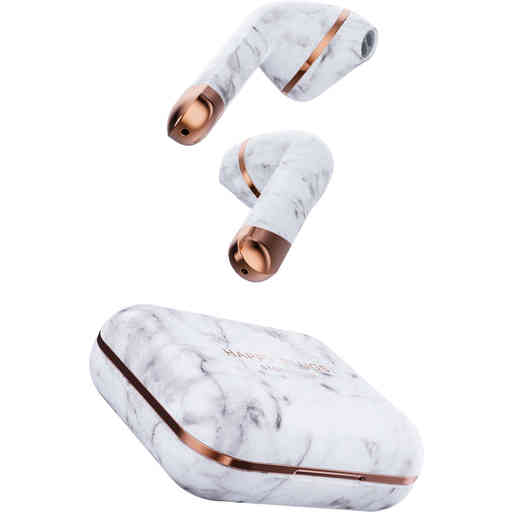 Happy Plugs Air 1 White Marble