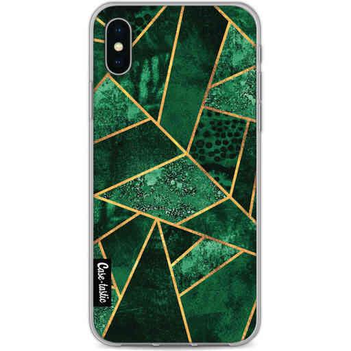 Casetastic Softcover Apple iPhone X / XS - Deep Emerald