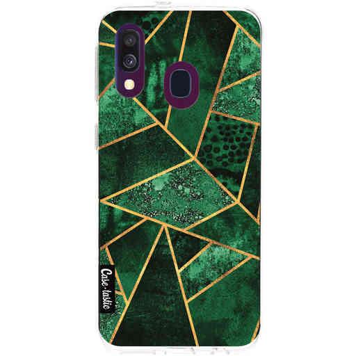 Casetastic Softcover Samsung Galaxy A40 (2019) - Deep Emerald