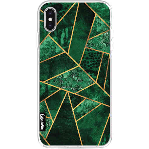 Casetastic Softcover Apple iPhone XS Max - Deep Emerald