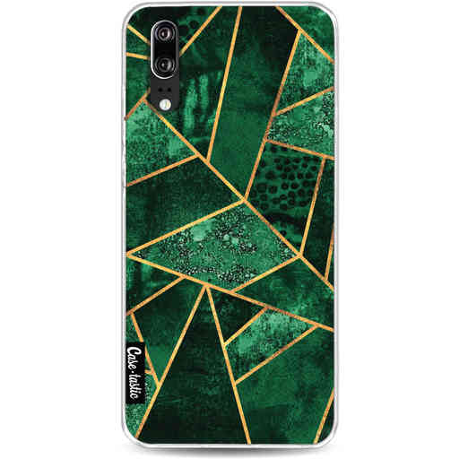 Casetastic Softcover Huawei P20 - Deep Emerald