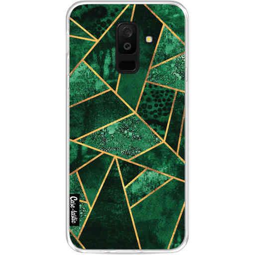 Casetastic Softcover Samsung Galaxy A6 Plus (2018) - Deep Emerald