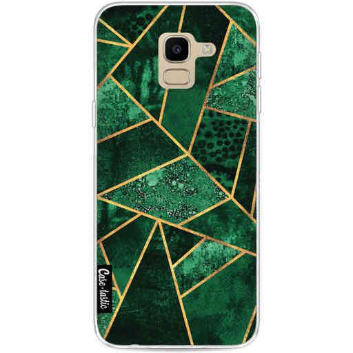 Casetastic Softcover Samsung Galaxy J6 (2018) - Deep Emerald