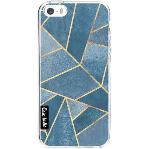 Casetastic Softcover Apple iPhone 5 / 5s / SE - Dusk Blue Stone