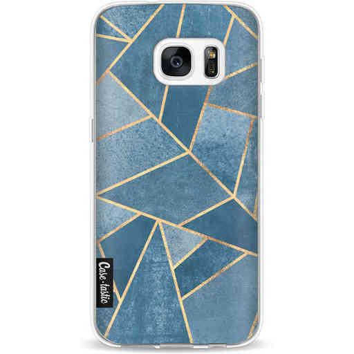 Casetastic Softcover Samsung Galaxy S7 - Dusk Blue Stone