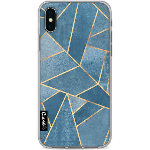 Casetastic Softcover Apple iPhone X / XS - Dusk Blue Stone