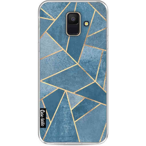 Casetastic Softcover Samsung Galaxy A6 (2018) - Dusk Blue Stone