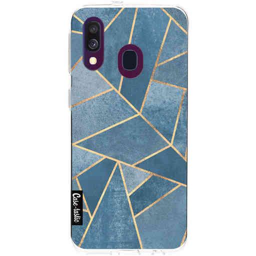 Casetastic Softcover Samsung Galaxy A40 (2019) - Dusk Blue Stone