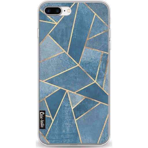 Casetastic Softcover Apple iPhone 7 Plus / 8 Plus - Dusk Blue Stone