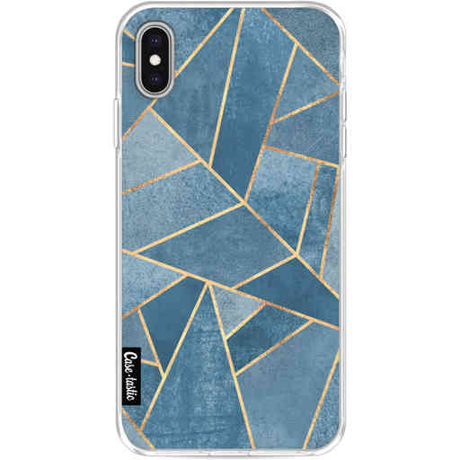 Casetastic Softcover Apple iPhone XS Max - Dusk Blue Stone