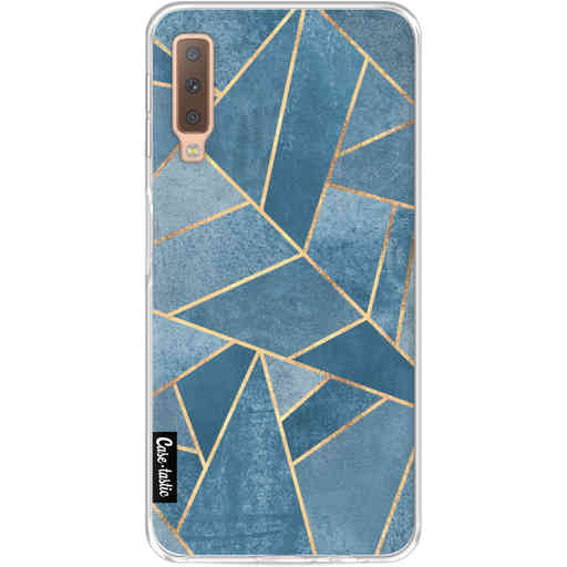 Casetastic Softcover Samsung Galaxy A7 (2018) - Dusk Blue Stone