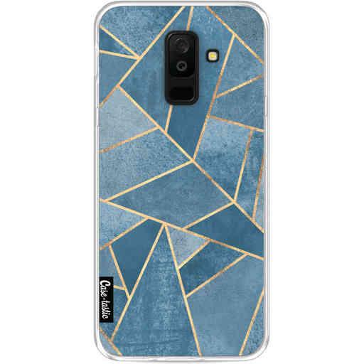 Casetastic Softcover Samsung Galaxy A6 Plus (2018) - Dusk Blue Stone