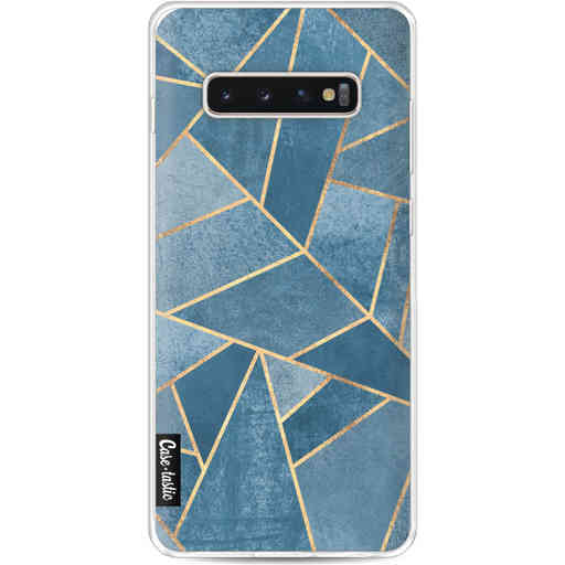 Casetastic Softcover Samsung Galaxy S10 Plus - Dusk Blue Stone
