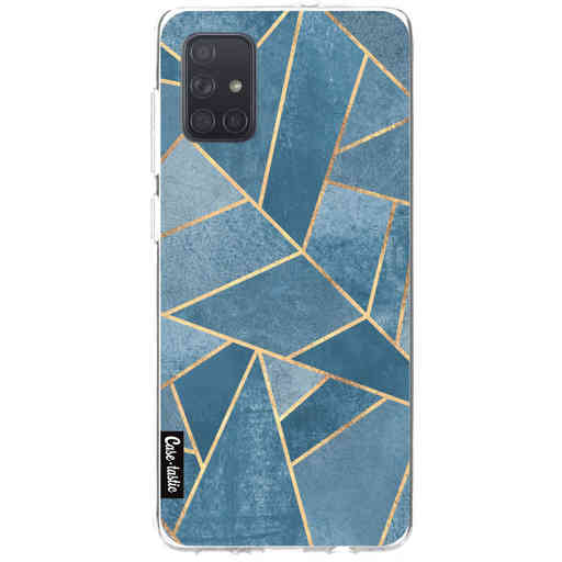 Casetastic Softcover Samsung Galaxy A71 (2020) - Dusk Blue Stone