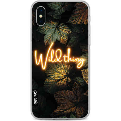 Casetastic Softcover Apple iPhone X / XS - Wild Thing