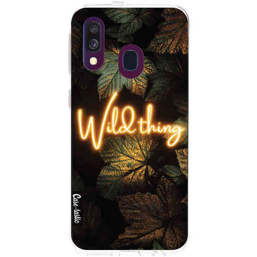 Casetastic Softcover Samsung Galaxy A40 (2019) - Wild Thing