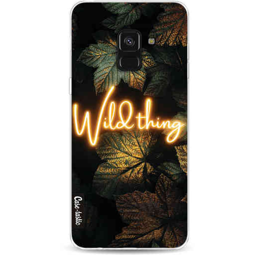 Casetastic Softcover Samsung Galaxy A8 (2018) - Wild Thing